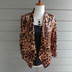 Jackets & Blazers - 🐆LEOPARD OPEN FRONT BLAZER🐆